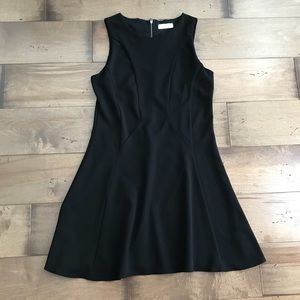 Elodie Little Black Dress Sleeveless Fit & Flare M